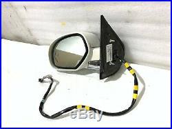 07 08 09 10 11 12 13 14 Cadillac Escalade Driver Left Door Mirror Blind Spot Oem