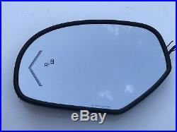 07-14 Left LH Driver Side Blind Spot Signal Mirror Suburban Tahoe Yukon Escalade