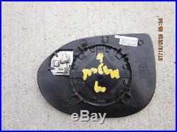 09 10 Mazda6 Passenger Side Power Heated Blind Spot Exterior Door Mirror Glass
