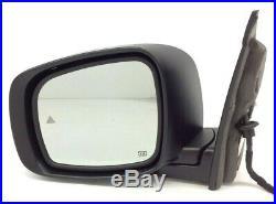 09-16 Dodge Grand Caravan power heat blindspot left driver Side View Mirror OEM