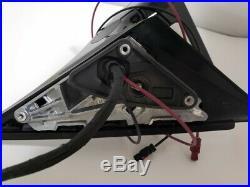 #115 White Left Driver Side Mirror For Mercedes Blind Spot E200 E300 E450 17-202