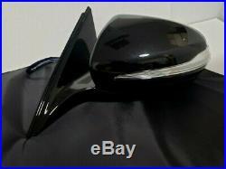 #116 BLACK LEFT SIDE DRIVER MIRROR FOR MERCEDES s500 s550 s560 blind spot 14-20