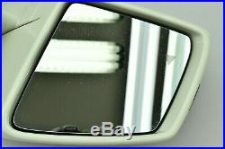 11-12 MERCEDES GL350 X164 FRONT LEFT DRIVER SIDE MIRROR With BLIND SPOT OEM #1