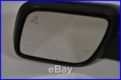11-15 Ford Explorer Left Driver Side Power Mirror Blind Spot Black 8 Pin