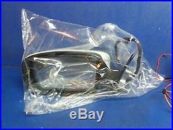11-18 Dodge Charger power mirror OEM Left white HH140 1NJ05GW7AL Blind spot NEW