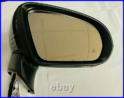 #139 BLACK RIGHT SIDE PASSENGER MIRROR WithBLIND SPOT FOR MERCEDES C250 C300 COUPE