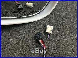 15 16 17 18 19 Dodge Challenger SIDE MIRROR RIGHT BLIND SPOT White 5LD66GW7AC