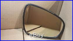15-16 Oem Used Lexus Is250 Mirror Glass Blind Spot Light Right Front 2015 2016