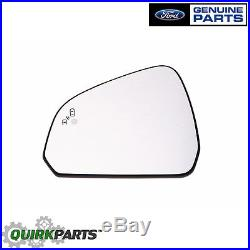 15-17 Ford Mustang Left Side View Mirror with Blind Spot Memory OEM FR3Z-17K707-R