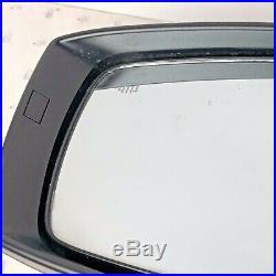 15-18 Subaru Wrx Sti Limited Left Door Side Mirror Blind Spot Heated Oem