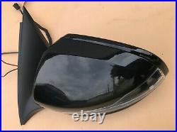 16-21 MERCEDES GLC W253 COMPLETE MIRROR BLACK left / DIM/BLIND SPOT/CAMERA full