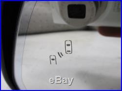 16 Cadillac SRX Front Left Driver Power Fold Blind Spot Alert Door Mirror OEM