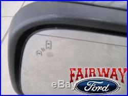 16 thru 17 Explorer OEM Ford Heat Signal Puddle Blind Spot Sys LH Driver Mirror