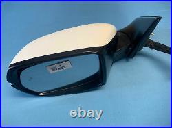 17-21 Honda Crv Cr-v Left Driver Side Door Mirror Blind Spot White Prl 833p Oem
