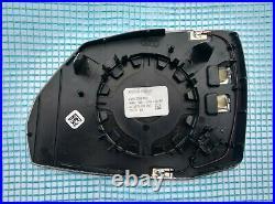 17-21 OEM AUDI Q5 Q7 SQ7 RIGHT side Auto DIM HEATED MIRROR GLASS RH USA type