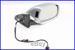 2007 2008 2009 AUDI Q7 4L RIGHT SIDE VIEW MIRROR With BLIND SPOT ALERT