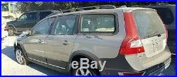 2008 Volvo XC70 OEM Passenger Right RH Side Mirror Blind Spot Detection Gold Tan
