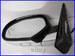 2009-2014 Cadillac Escalade Signal Mirror Blind Spot Black Left Driver Hand