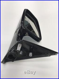 2009 BMW 750li F02 F01 LH DOOR MIRROR BLIND SPOT GREY OEM F0152101U6680