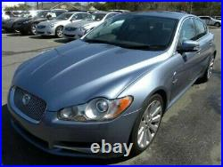 2009 Jaguar XF DRIVER Left AUTO DIM Side Mirror BLIND SPOT Azure Blue LH