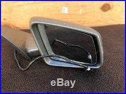 2010-2013 Mercedes W221 S63 S550 S600 Right Door Auto DIM Mirror Blind Spot Oem