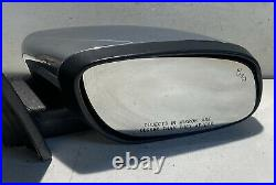 2010 2018 Ford Taurus Right Passenger Side Mirror With Blind Spot 14 Pin Chrome