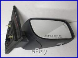 2012-2016 Lincoln Mks Blind Spot Mirror Side Passenger Right Hand Kodiak Brown