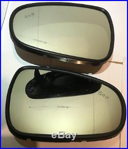 2012-2017 LEXUS GS ES IS AUTO DIMMING, BLIND SPOT, HEATED MIRROR GLASS LH+RH set
