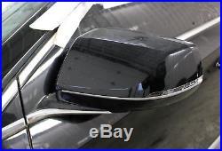 2013-2014 Cadillac XTS Drivers LH Power Door Mirror Blind Spot Alert Black