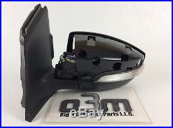 2013-2015 Ford Escape Left Driver Mirror with Blind Spot Indicator Light new OEM