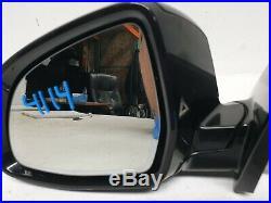 2014 15 16 17 Bmw X5 Left Door Mirror With Camera Blind Spot Oem 4114