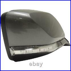 2014-18 Chevy Impala Side View Mirror Satin Steel RH Heated OEM GM 22936942