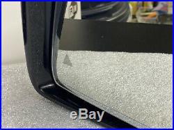 2014 2015 Mercedes Benz ML Class ML350 Door Side Mirror Front Left Withblind Spot