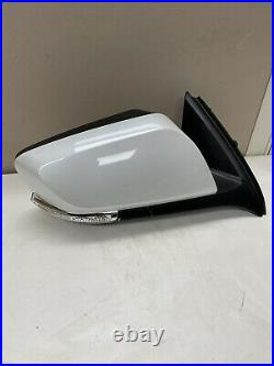 2014-2018 Chevy Impala Right Mirror WithTurn Signal WithBlind Spot OEM Pearl White