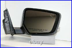 2014-2018 Chevy Impala Right Mirror WithTurn Signal WithBlind Spot OEM Summit White