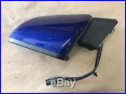 2015-2017 Ford Mustang GT LH Left Driver Side View Mirror withBlind Spot BLUE OEM