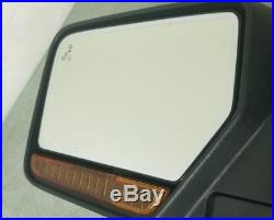 2015-2017 Lincoln Navigator Driver Left Mirror Blind Spot Heated Auto Dim Chrome