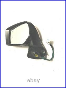 2015-2017 Subaru Legacy DRIVER Left Side Mirror AUTO DIM Blind Spot Outback Red