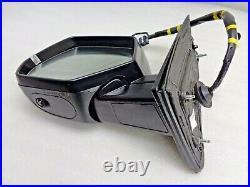 2015-2018 Cadillac Escalade Lh Side Signal Mirror Auto DIM Blind Spot Camera Blk