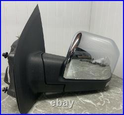 2015-2018 Ford F150 Left Driver Side Turn Signal Door Mirror OEM Blind Spot
