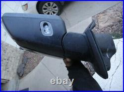 2015-2018 Ford F150 Left Side Mirror Black WithBlind Spot & Lamp fl34-17683-mn5g9z