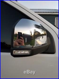 2015 f150 RH Power Folding Heated Puddle Light Blindspot mirror. GREAT CONDITION