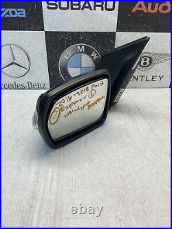 2016 17 2018 Ford Explorer Left Side Mirror Withblind Spot Used Oem