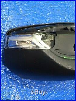 2016-18 Chevrolet Malibu RH Pass OEM Black Blindspot Signal Mirror No Cover CH20