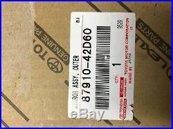 2016-2018 Toyota RAV4 RIGHT DOOR MIRROR heated blind spot OEM 87910-42D20 OEM