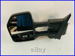2017 2018 2019 Ford F250 F350 F450 Left Mirror WithCamera Blind Spot Heated OEM