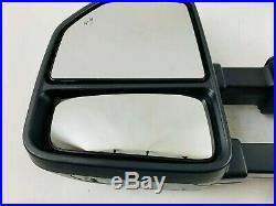 2017 2018 2019 Ford F250 F350 Left Driver Door Mirror Blind Spot Camera