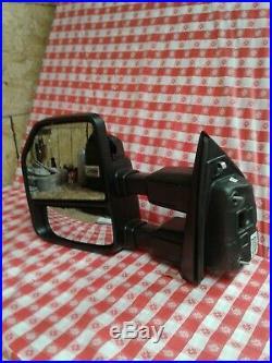 2017 2018 Ford F250 Super Duty Drivers Power Fold Signal Blind Spot Mirror