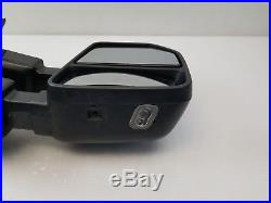 2017 2018 Ford F-250 F-350 SuperDuty Mirror OEM Right Heated Blind Spot Camera