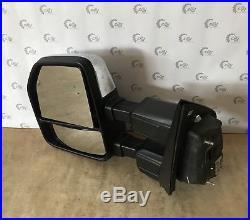 2017 2018 Ford Super Duty F-250 F-350 Left Side Camera Blind Spot Mirror Oem